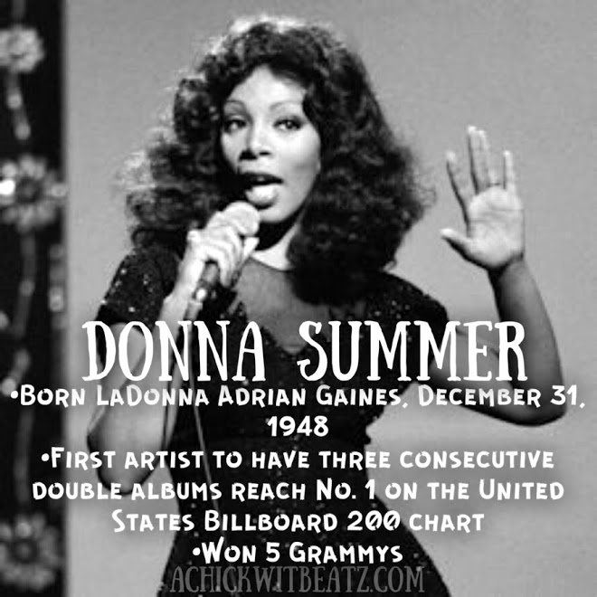 Donna Summer Women's History Month