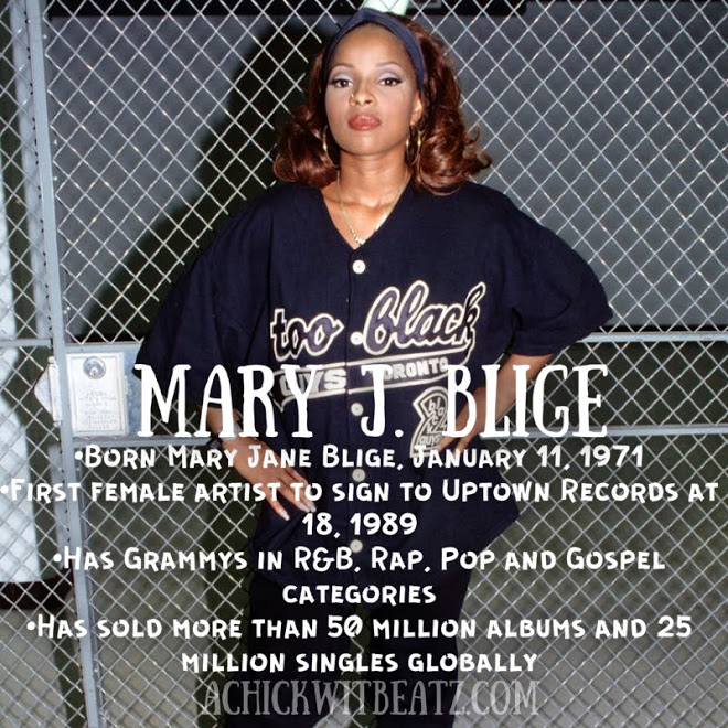 Mary J Blige Women's History Month