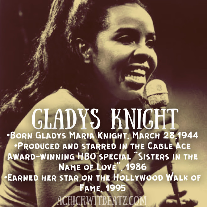 Gladys Knight Women's History Month
