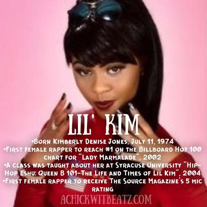 Lil Kim Women's History Month