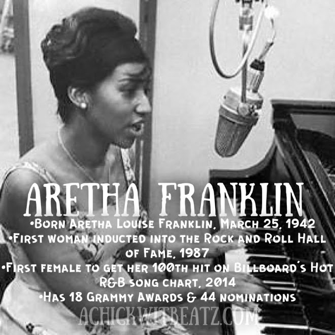 Aretha Franklin Women's History Month
