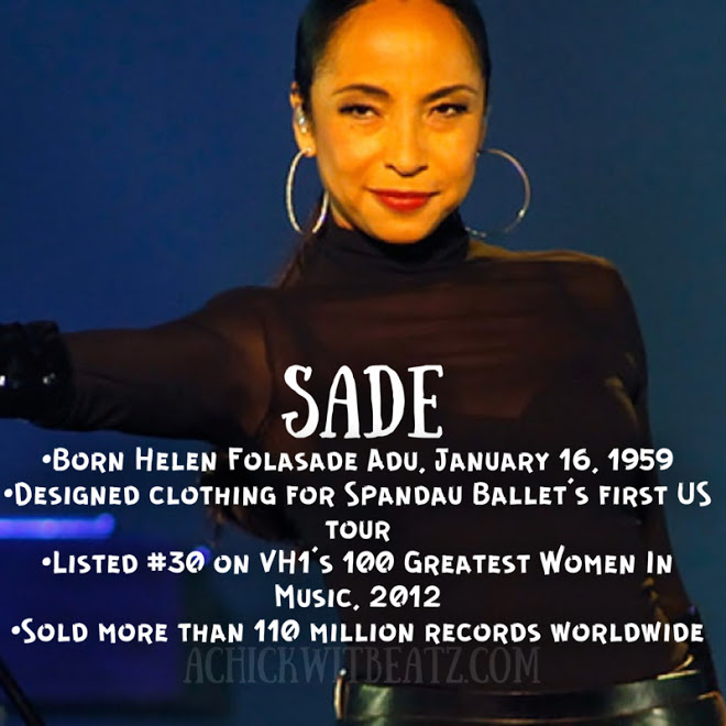 Sade Women's History Month