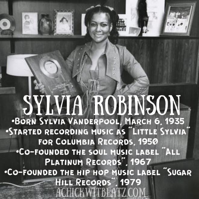 Sylvia Robinson Women's History Month