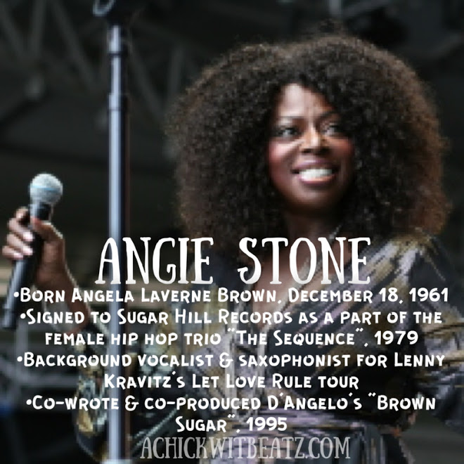 Angie Stone Women's History Month