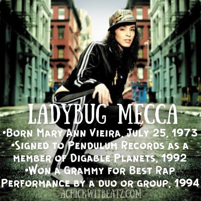 Ladybug Mecca Women's History Month