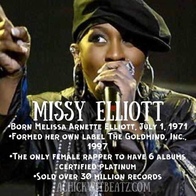 Missy Elliott Women's History Month
