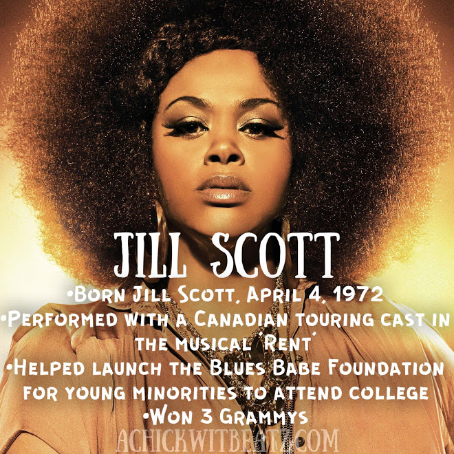 Jill Scott Women's History Month