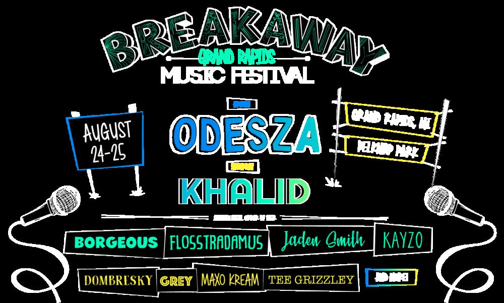 Breakaway Music Festival Michigan 2018