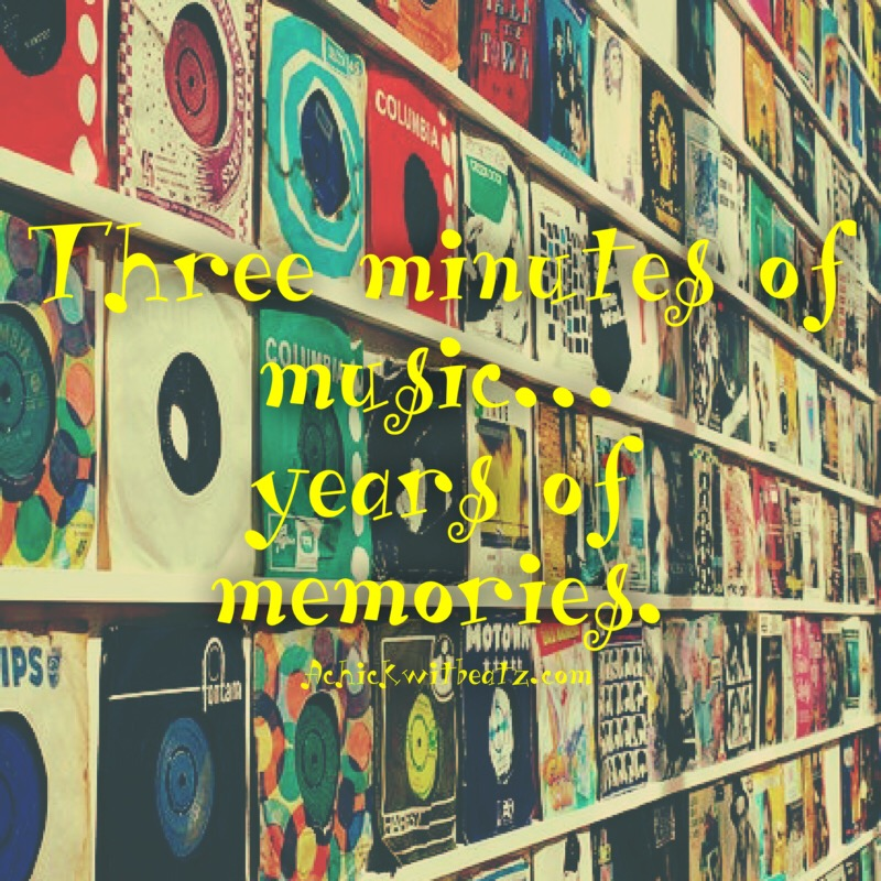 Three minutes of music...years of memories