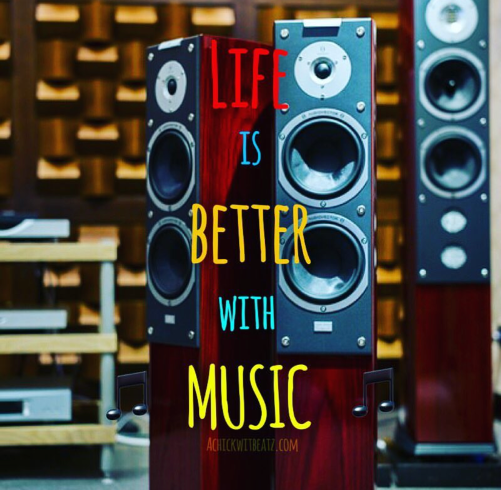 Life is better with music