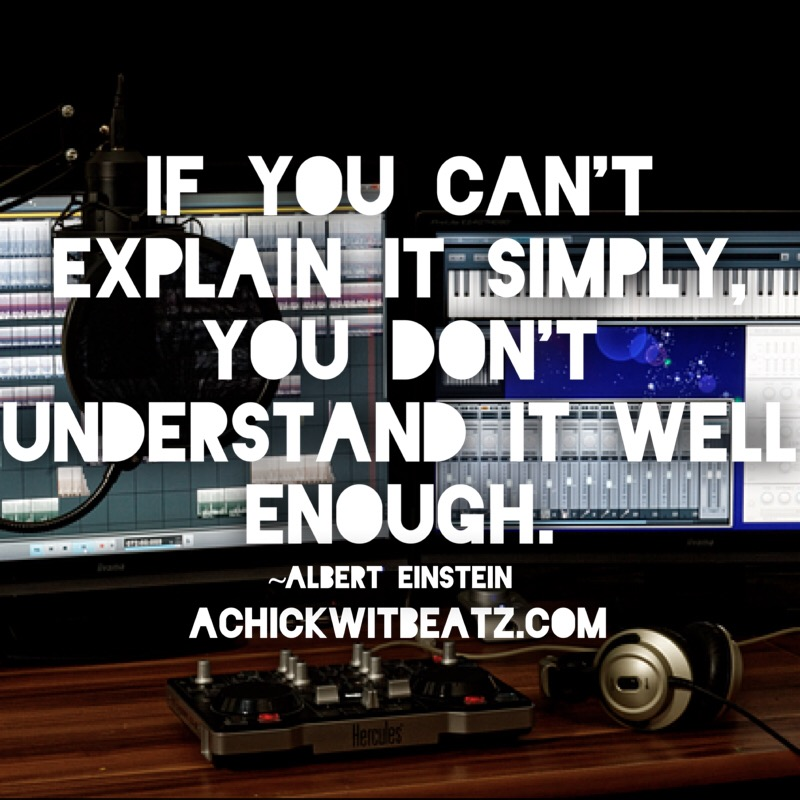 If You Can't Explain It Simply You Don't Understand It Well Enough