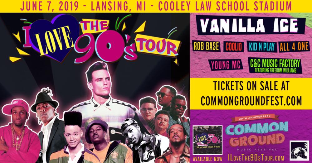 Common Ground I Love the 90s Tour
