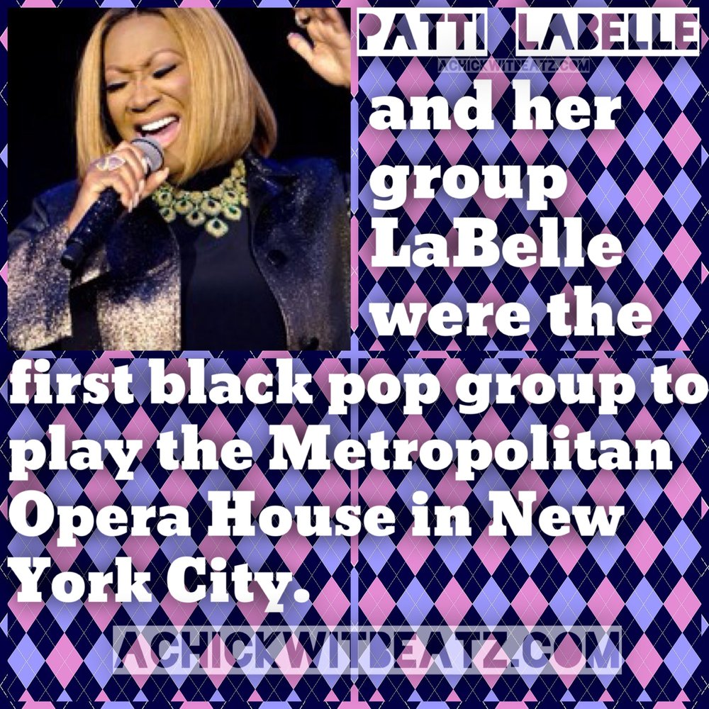 Womens History Month Patti LaBelle