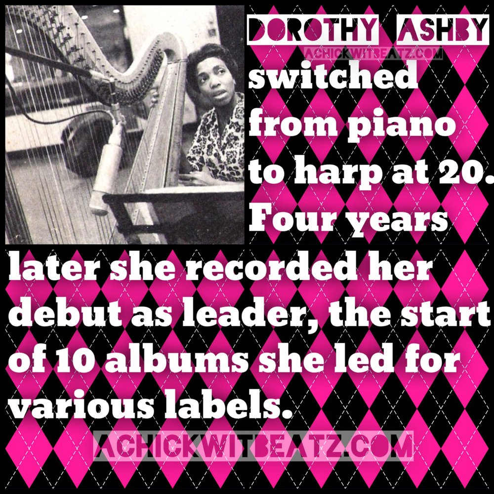 Womens History Month Dorothy Ashby