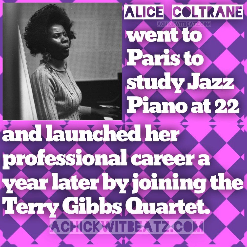 Womens History Month Alice Coltrane
