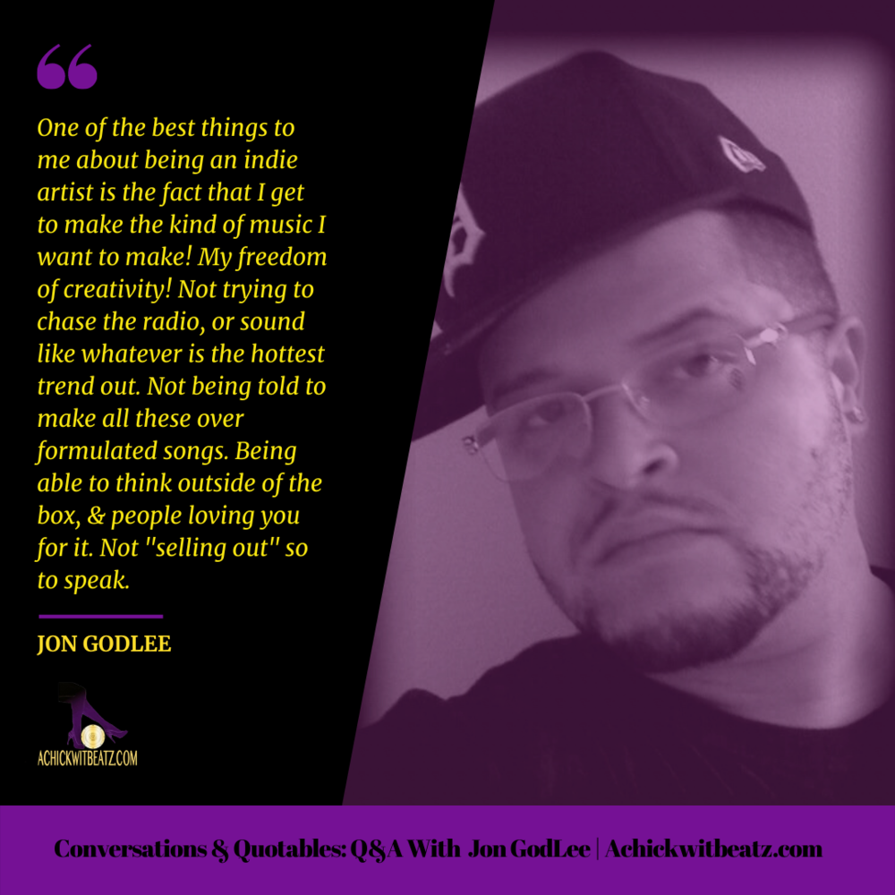 Conversations & Quotables: Q&A with Jon GodLee