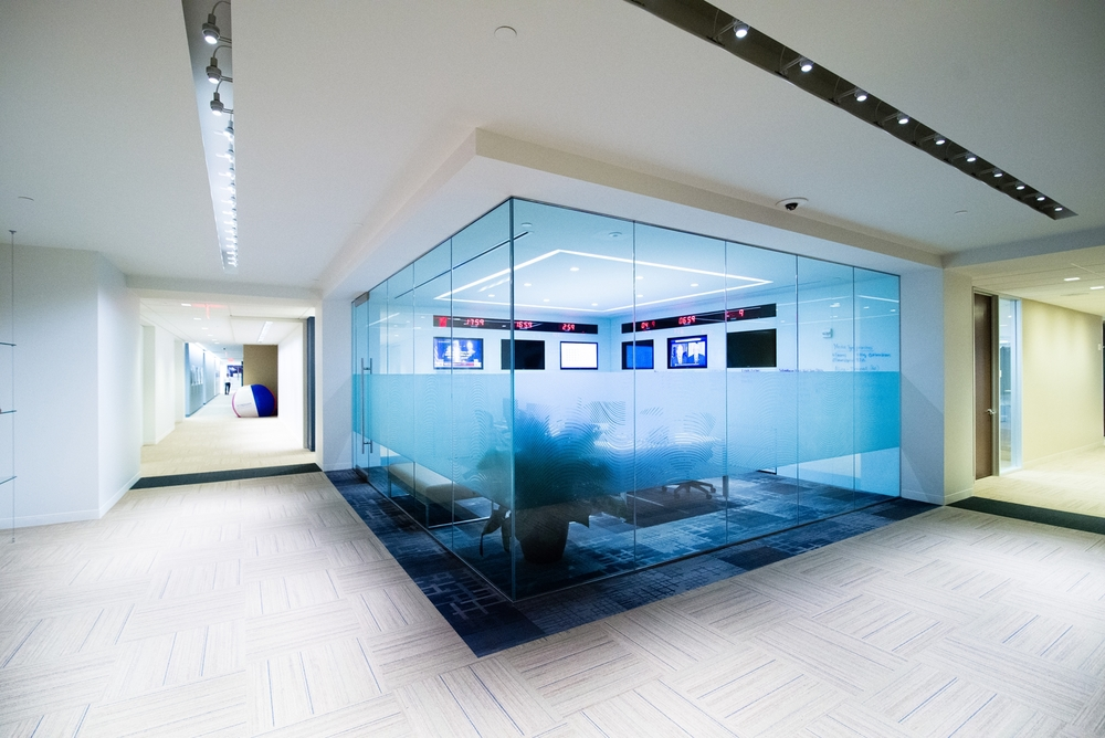 Fishbowl Glass Office