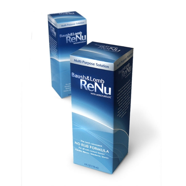 Baush & Lomb // Renu Contact Lens Solution
