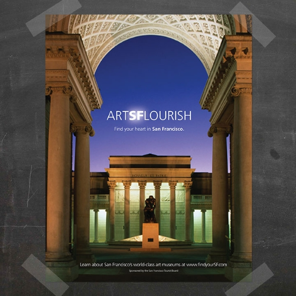 San Francisco Tourism Board // Arts Flourish
