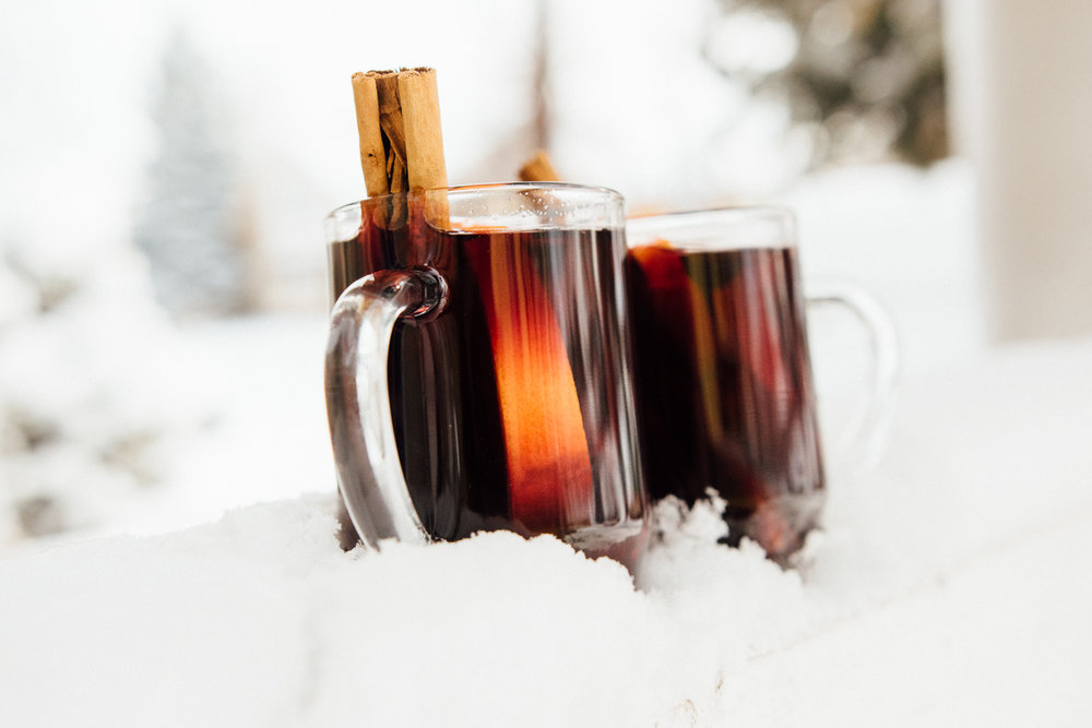 Mulled wine warms like a hot crackling fire.