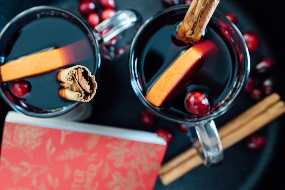 Make mulled wine for some extra holiday cheer!