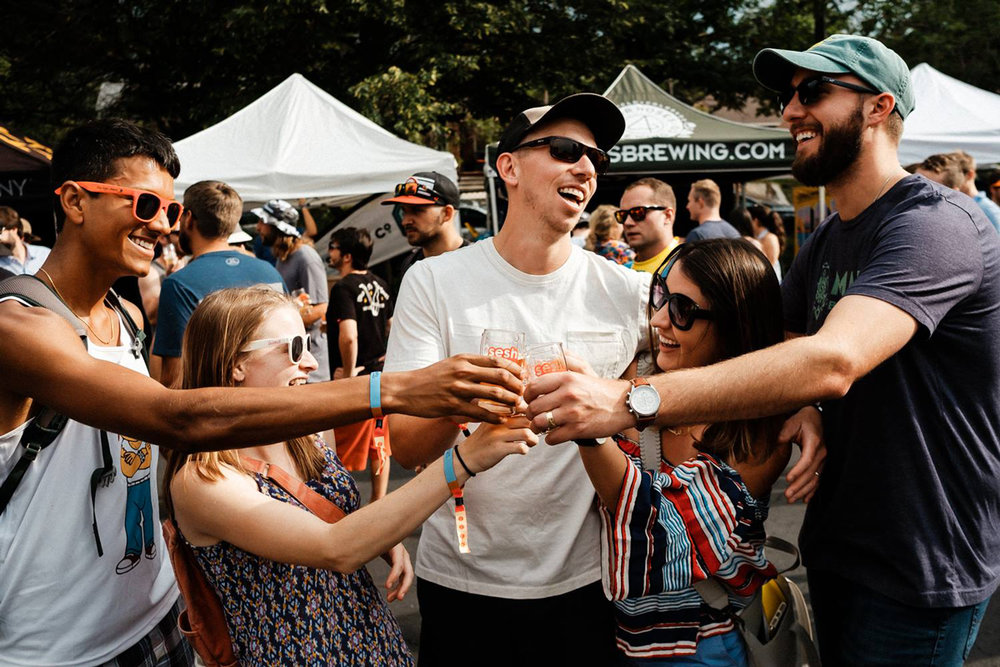 event partnership - Let's collaborate to create a special experience between Passport holders and your brand! Join one of our seasonal Passport events or create your own with the help of our team. We're famous for our pick-up parties, tasting events, dinners, and closing parties. Whether you want to cater to an intimate affair or a 500+ attendee bash, we'll find a way to seamlessly integrate your style.