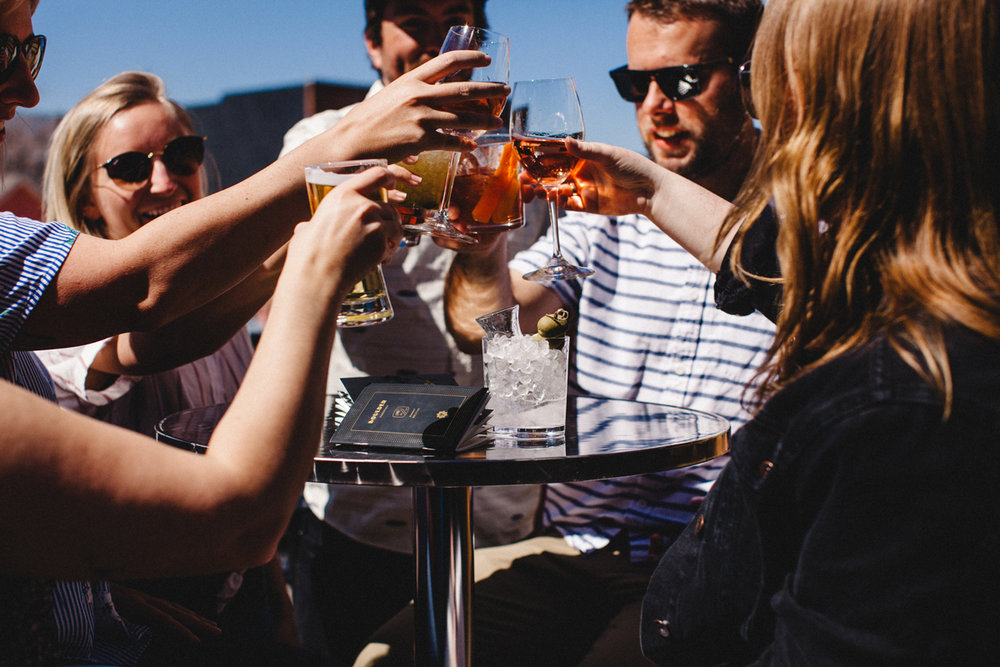 """JOIN THEboulder PASSPORT - Partnering with the Boulder Passport puts your brand in front of thousands of thirsty city-explorers. Each season, our Boulder Passports tag along to countless celebrations, social meet-ups, post-work happy hours, and date nights. Be a part of each and every """"cheers"""", from launch day to the closing party."""