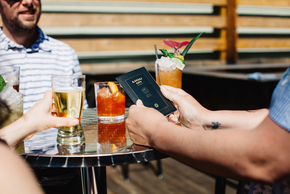 "JOIN The Kansas city PASSPORT - Partnering with the Kansas City Passport puts your brand in front of thousands of thirsty city-explorers. Each season, our Kansas City Passports tag along to countless celebrations, social meet-ups, post-work happy hours, and date nights. Be a part of each and every ""cheers"", from launch day to the closing party."