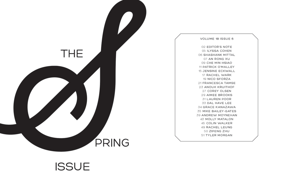 Spring Issue interior