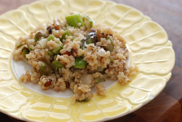 bulgur asparagus