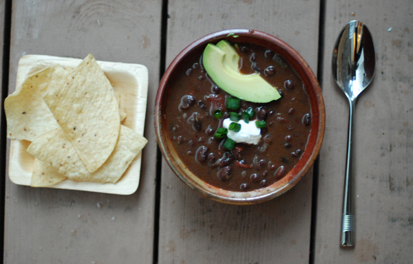 adobo black bean soup