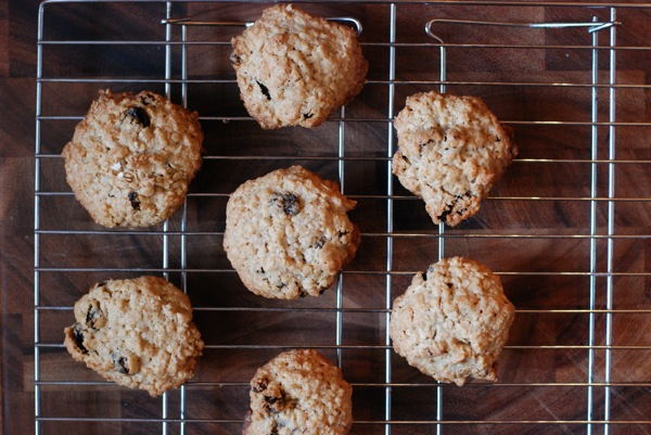 oatmeal raisin cookies4