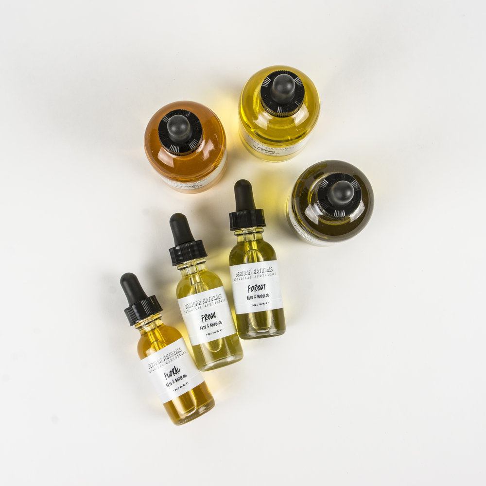 BATH & BODY OILS -