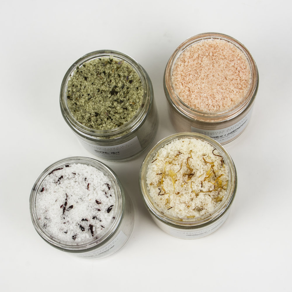 DEAD SEA SALT SCRUBS - Rejuvinating & Mineral-Rich