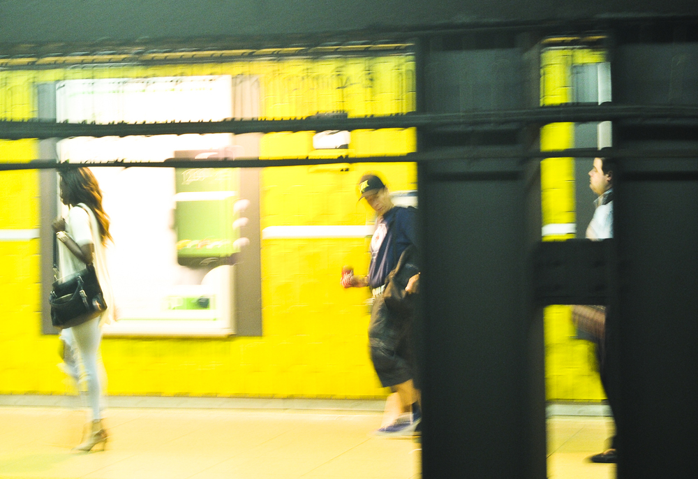 In Motion - Toronto Subway