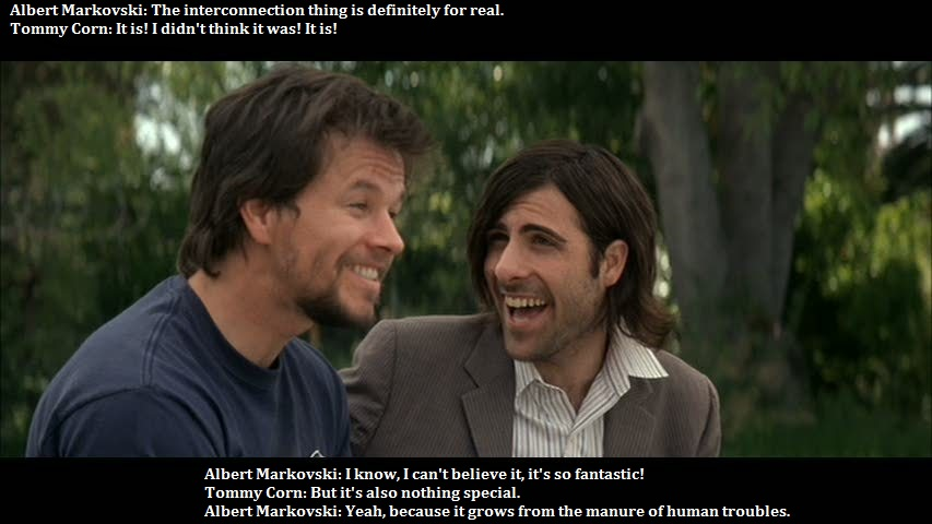 "from ""I Heart Huckabees"""