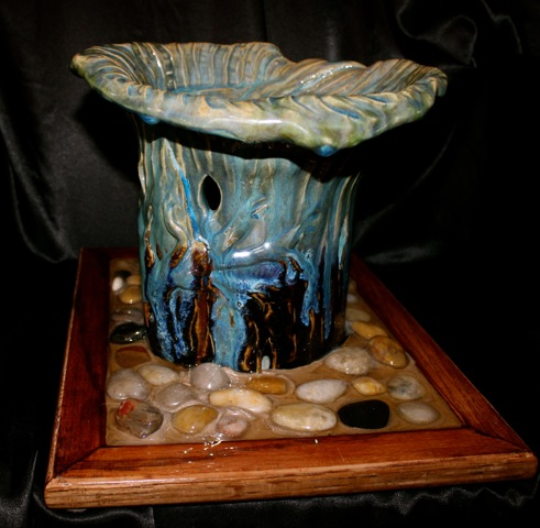 Aqua Bird Bath
