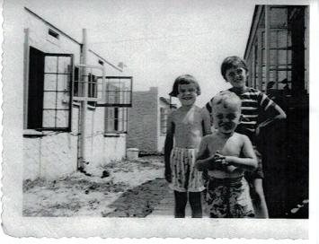 Jody, Bill & Mary Lee Grimm Summer 1949
