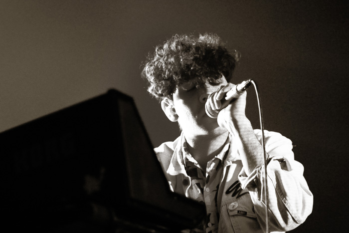 neon indian - live letters - minneapolis music photography