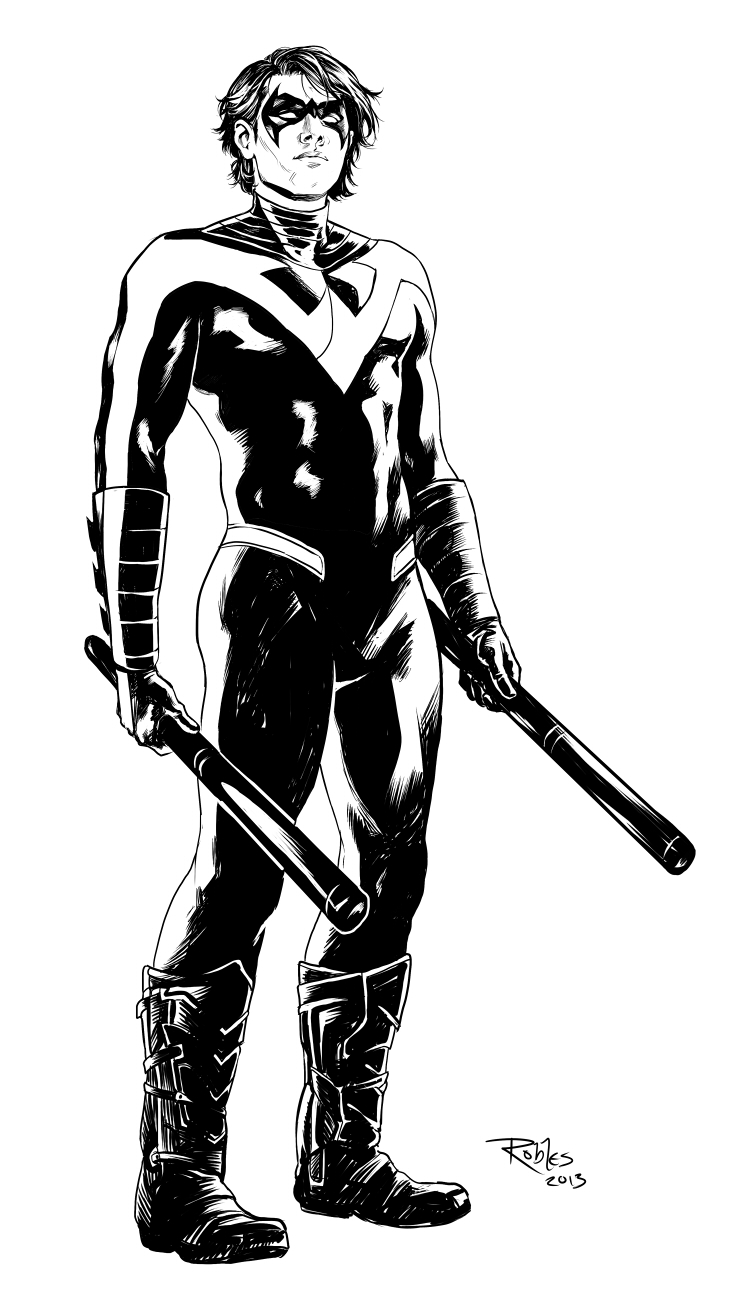 Nightwing (Inks)