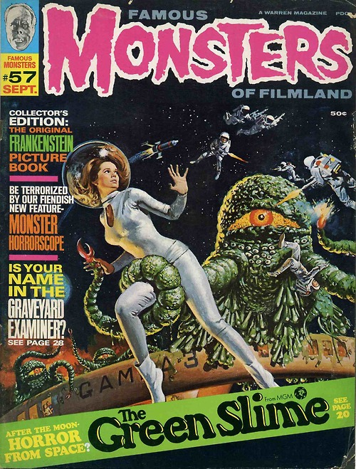 Famous Monsters: Green Slime Cover