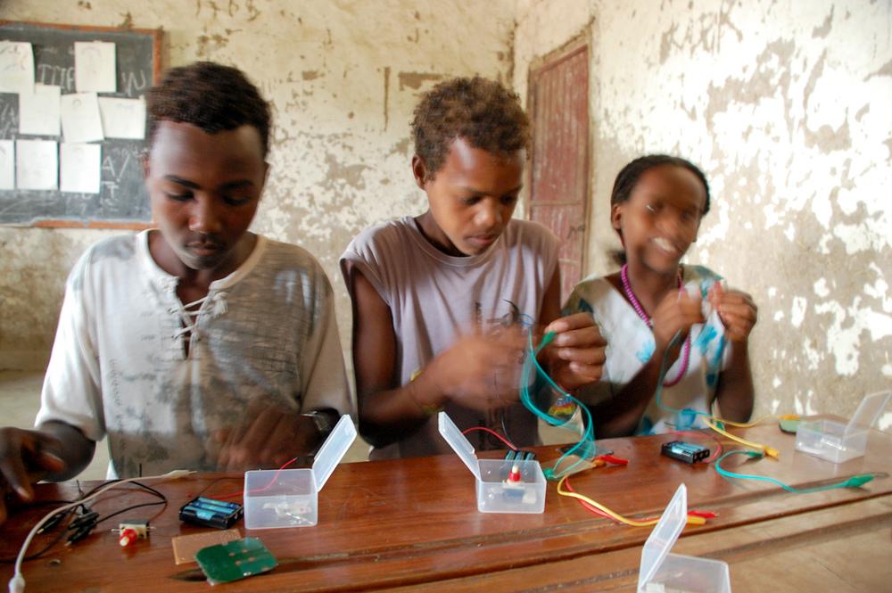 Teaching with the World Family in Gara Dima Ethiopia