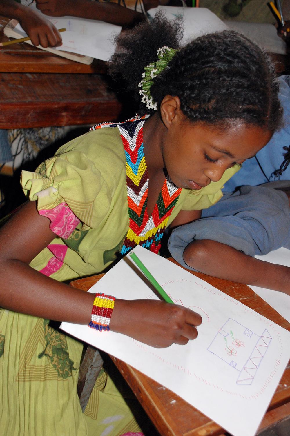 Young Oromo girl