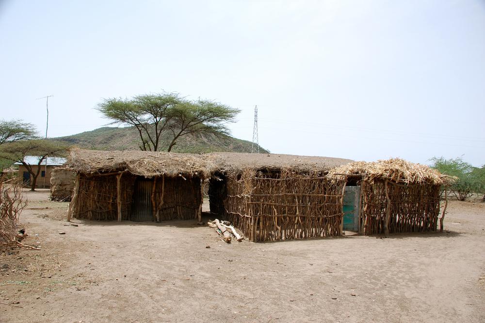 Typical structure in Gara Dima
