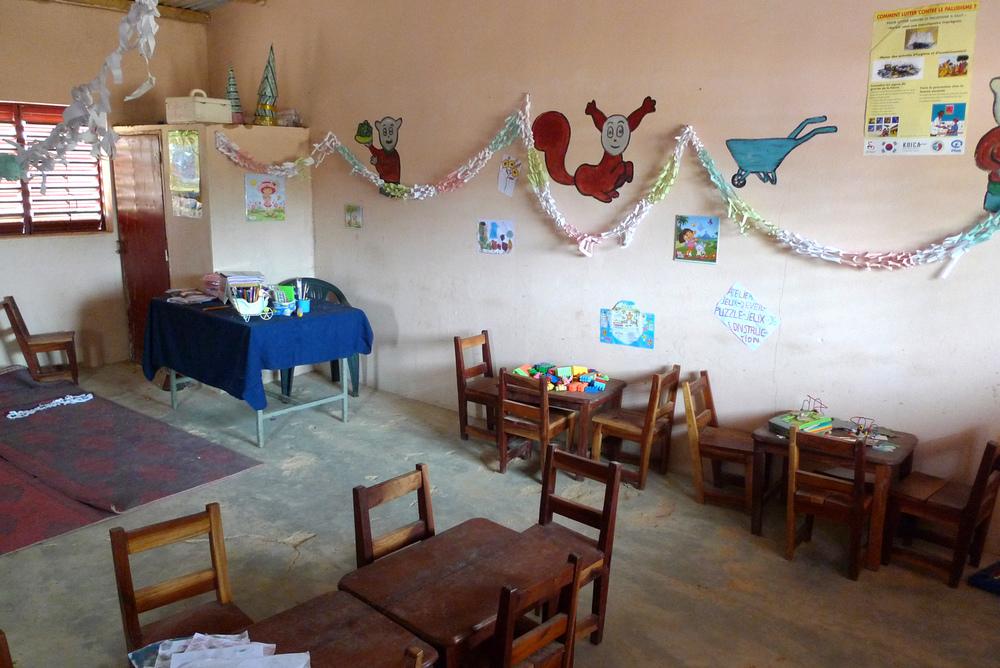 New preschool classroom