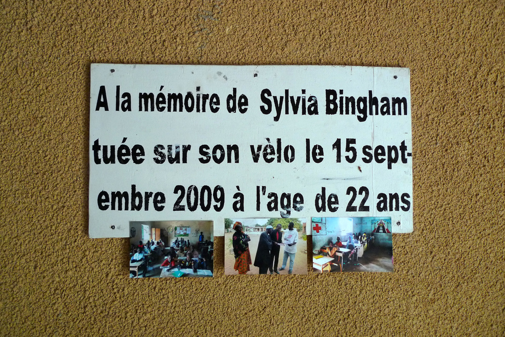 Library dedication in memory of  Sylvia Bingham
