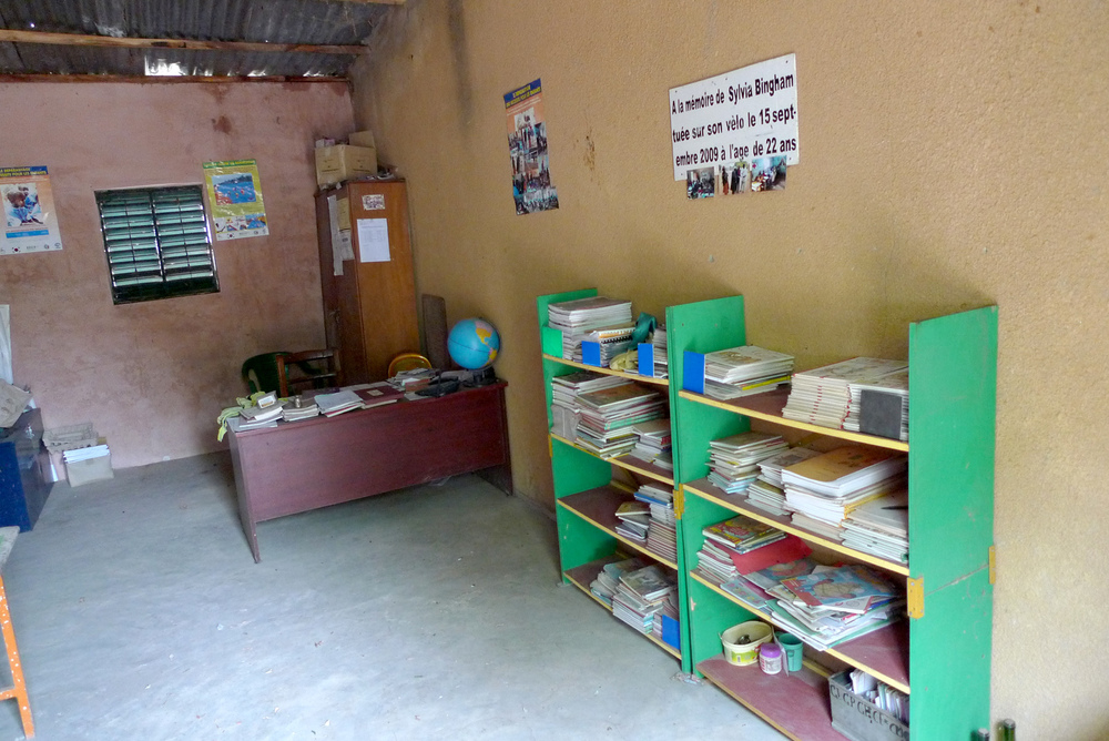 School lending library and director's office