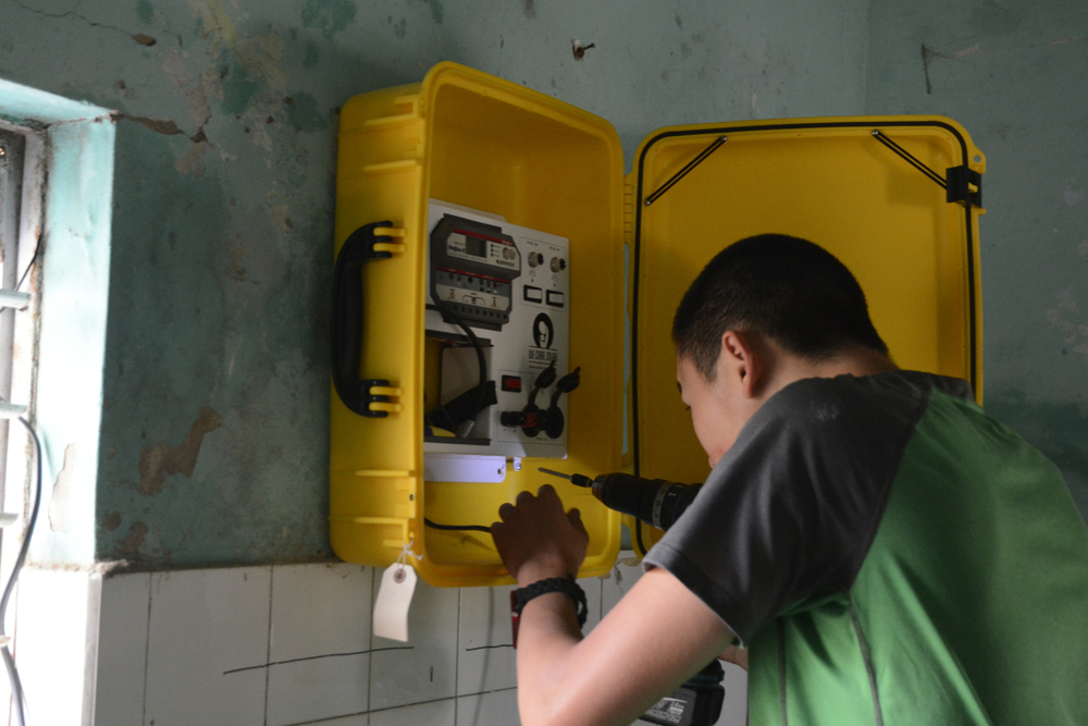 Solar Suitcase Installations in Senegal