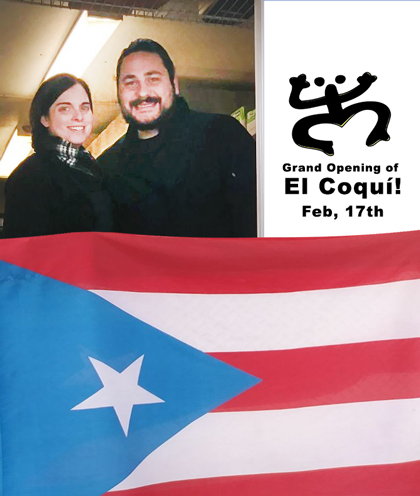 The Portland Mercado invites to the Grand Opening of Portland's only Puerto Rican Food Cart: EL COQUÍ!!