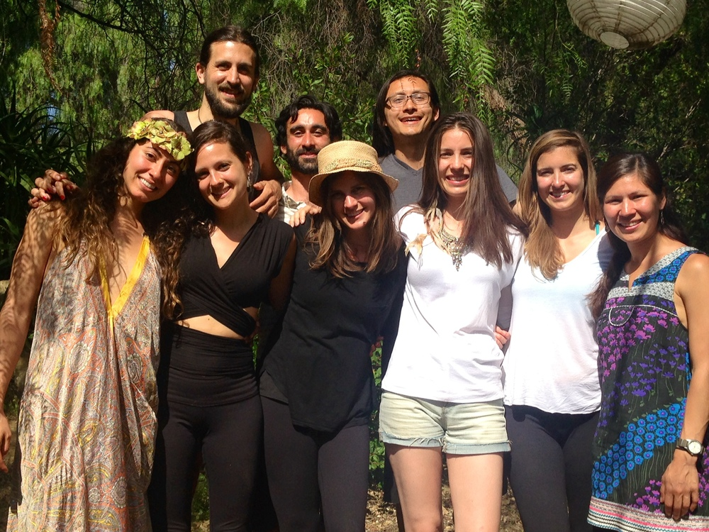 This is the beautiful tribe I shared a weekend of community and nature with in Ojai, California.